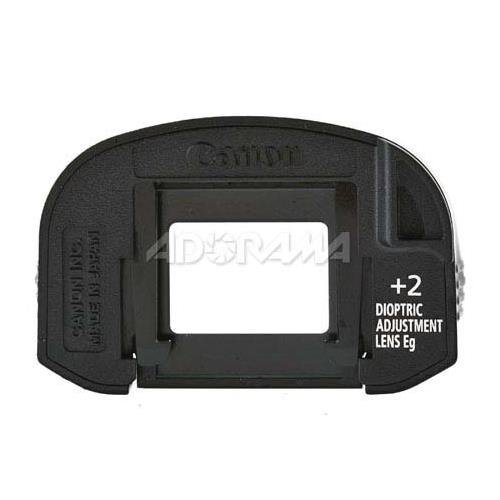 Canon Dioptric Adjustment Lens EG (+2) for Select Canon EOS Cameras by Canon