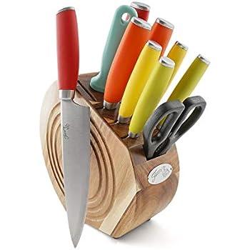Amazon.com: Cuisinart set de bloque con cuchillos, cubiertos ...