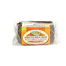 Everfresh Bakery - Sprouted Wheat Bread with Carrot & Raisins - 400g