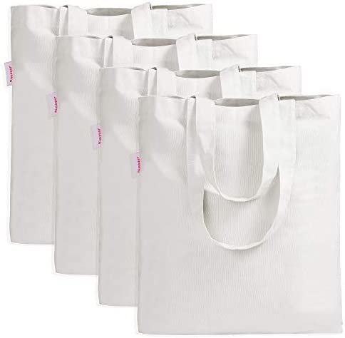 Amazon Com 4 Pieces Crafting Bag For Decorating Grocery Canvas