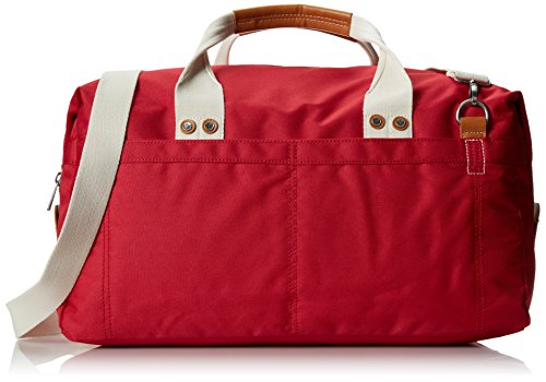 J.Fold Men's Montreal Nylon Duffel, Red, One Size