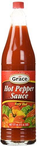 Grace Hot Pepper Sauce 6oz