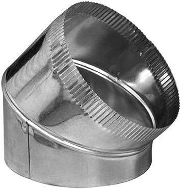 Duct Outlet 6 45 Degree Adjustable Elbow Hvac Duct Eblow 26 Gauge Hvac Amazon Com