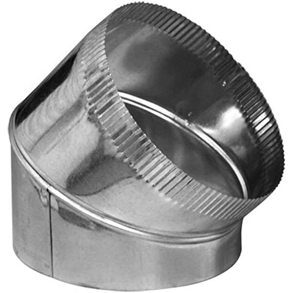 24 ga. Pack of5 6 End Cap Round Duct Fitting