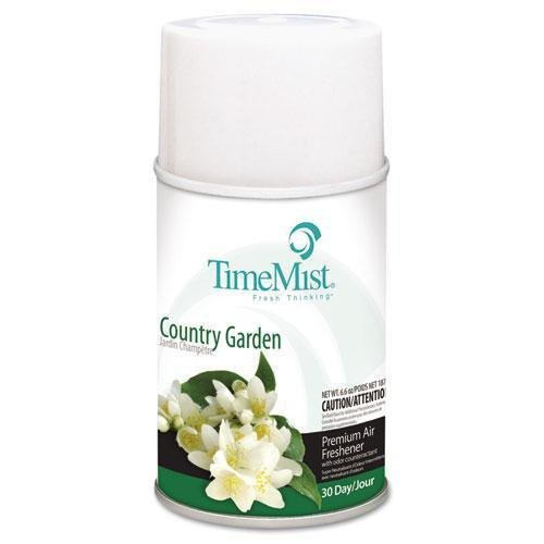 TimeMist 332522TMCT 6.6 oz. Metered Country Garden Fragrance Dispenser Refills (12-Pack)