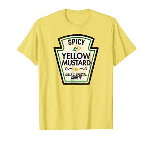 Funny Mustard Halloween Costume T-Shirt]()