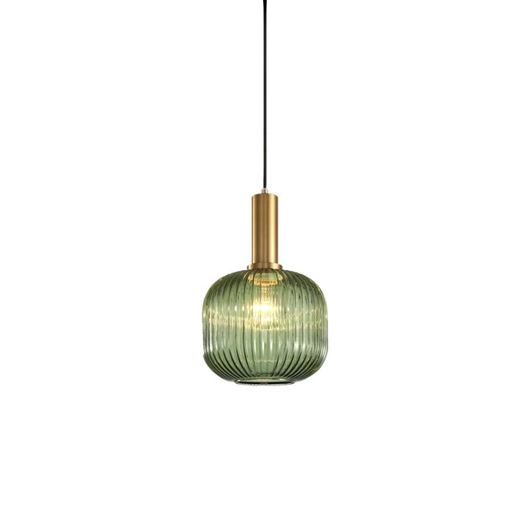 Mini kitchen island small pendant lights dining room lighting fixtures hanging light modern design rustic style green glass shade farmhouse bedroom bathroom