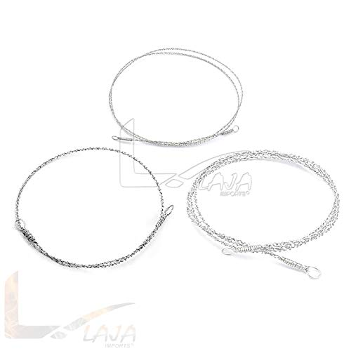 LAJA Imports 3 Gigli Saw Wire Neuro & Veterinary Instruments 12, 20, 30 Inch New ()