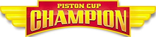 11 Inch Piston Cup Champion Flag Team Lightning McQueen 95 D