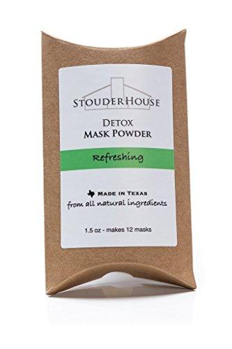 Refreshing Detox Mask Powder - makes 12 masks by StouderHouse