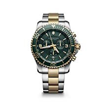 Victorinox Swiss Army Men's 241693 Maverick Chronograph Two-Tone Stainless Steel Bracelet Watch