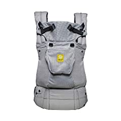 "The revolutionary LILLEbaby complete baby carrier lives up to its name by providing parents with six ergonomic carrying positions with the convenience of ""360 degree"" baby wearing. This lightweight baby carrier is designed for all ages and st..."