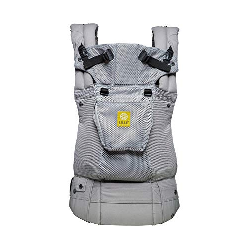 Lillebaby The Complete Airflow 360 Ergonomic Six-Position Baby & Child Carrier, Silver