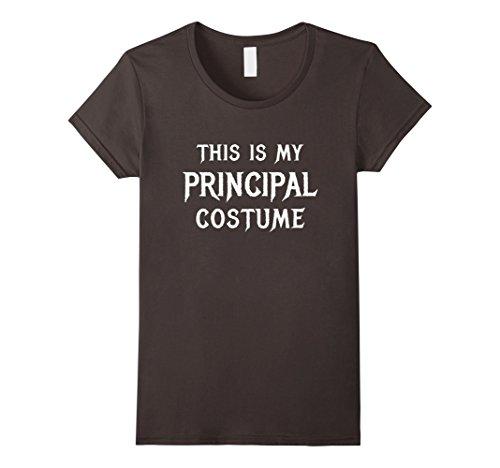 Womens School Principal Halloween Shirt Costume Classroom Gift XL Asphalt