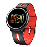 Fitness Tracker for iPhone 8/8plus/7/7plus, Activity Tracker Watch Men Women with Heart Rate/Blood Pressure/Sleep Monitor,Step/Calorie Counter Pedometer for iPhone,Samsung,etc IOS&Android Smartphone