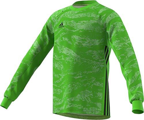 b0e7b320453 adidas adiPro 19 Goalkeeper Jersey- Boys Soccer L Semi Solar Green