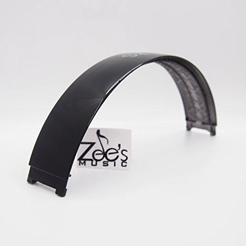 Zee's Music Black Color Replacement Headband top parts for Monster Beats by Dre Studio 2.0 Studio 2 Wireless Wired repair part