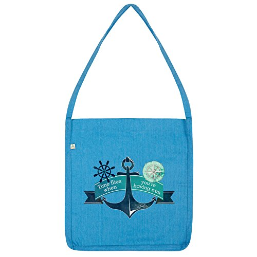 Tote Time Twisted Flies Rum Envy Having When Bag You're Blue qOZUO7n