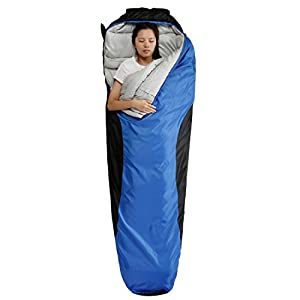 FARLAND Mummy Sleeping Bag with Compression Sack,20 Degrees ℉,Portable and Lightweight for 3-4 Season Camping, Hiking,Waterproof, Traveling, Backpacking and Outdoor