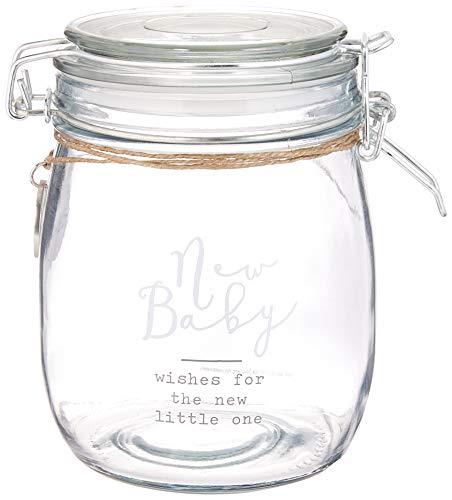 New Mud Pie New Baby Wish Jar Set