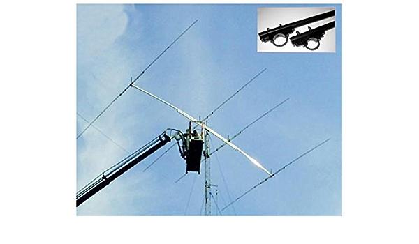 Antena yagi 2 Elementos Banda 20 M 14 MHz, Boom 3,23 m 6 dB ...