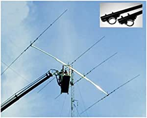Antena yagi 2 Elementos Banda 20 M 14 MHz, Boom 3,23 m 6 ...