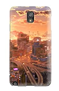 Tough Galaxy AZWCtUs3958lxpxp Case Cover/ Case For Galaxy Note 3(city Artistic Abstract Artistic)