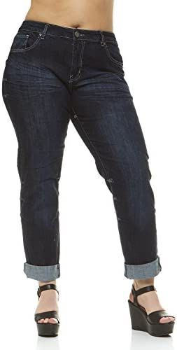 59e43f69c8 Classic 5 Pocket Slim Fit Skinny Stretch Jeans For Women Plus Size 4 Color  Choices