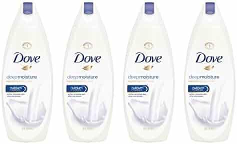 Dove Body Wash, Deep Moisture, 22 oz (Pack of 4)
