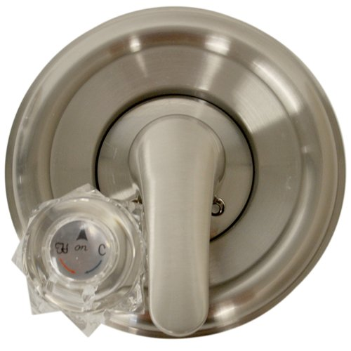 Acrylic Knobs Dome (Danco 10004 Trim Kit, for Use with Delta Tub and Shower Faucets, Plastic, Brushed Nickel)