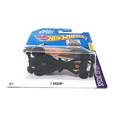 Hot Wheels 2016 Scavenger Hunt Special Edition: F-Racer [Includes Factory Sealed Set Sticker]: Toys & Games