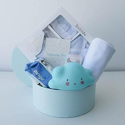 Canastilla bebé Mil Rayas - Cesta regalo bebé recién nacido ...