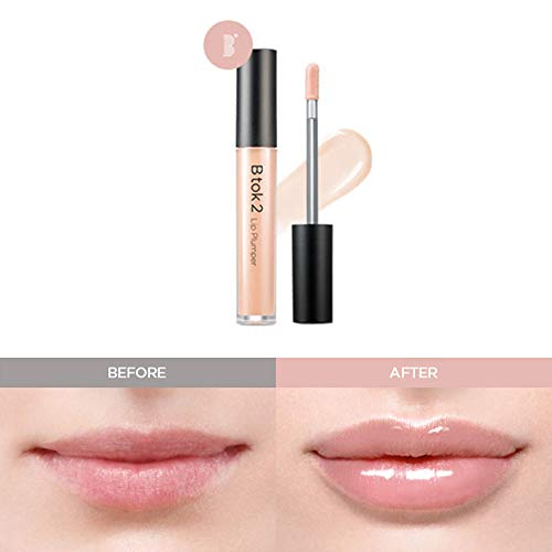 Amai Lip Plumper Glossy Anti-Wrinkle Lip Cosmetic - Nudy