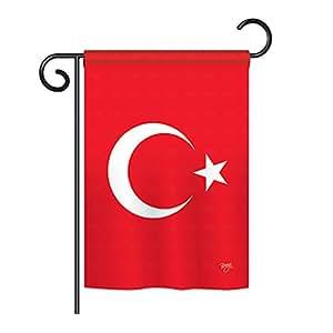"""Turquía bandera de Jardín 13""""x 18,5"""""""