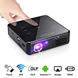 Portable Projector (16GB) - OTHA Mini Android Projector with 2GB RAM, 200 ANSI Lumen, Compatible with Android,iPhone,Laptop,HDMI,PS4, TF Card and USB