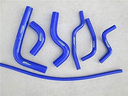 BLUE MONROE RACING Silicone Radiator Heater Hose for SUZUKI SAMURAI 1986-1995 87 88 89 90 91 92 93 94