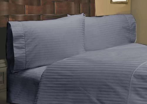 600TC Egyptian Cotton WATERBED SHEET SET Sateen Solid Charcoal