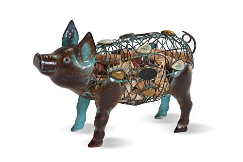 Picnic Plus Pig Cork Caddy Displays And Stores Wine Corks