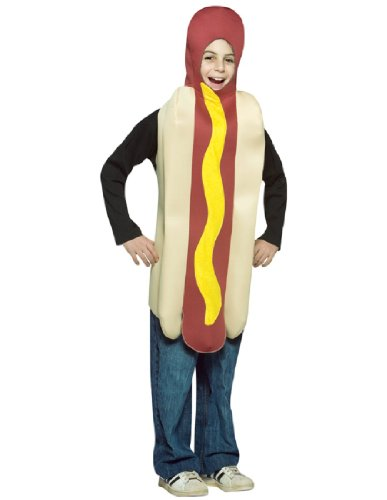 Grim Dog Reaper Costume (Rasta Imposta - Hot Dog Child Costume, One-Size)