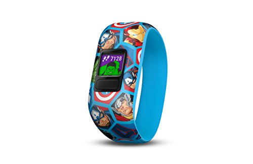 Garmin Vivofit jr. 2 - Stretchy Avengers - Activity Tracker for Kids 010-01909-22