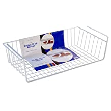Organized Living Large Under Cabinet Basket , White