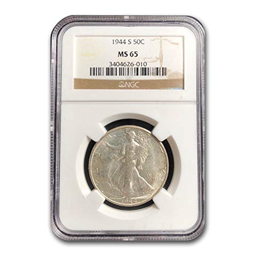 1944 S Walking Liberty Half Dollar MS-65 NGC Half Dollar MS-65 NGC