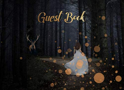 Guest Book: Enchanted Fairytale Forest Theme | For Showers, Weddings and Parties | 250 guests and their messages - Tale Guest Theme Book Fairy