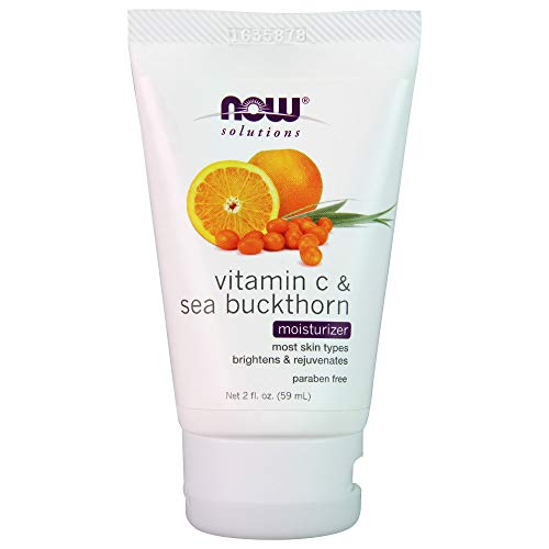 Now Foods, Solutions, Vitamin C & Sea Buckthorn Moisturizer,
