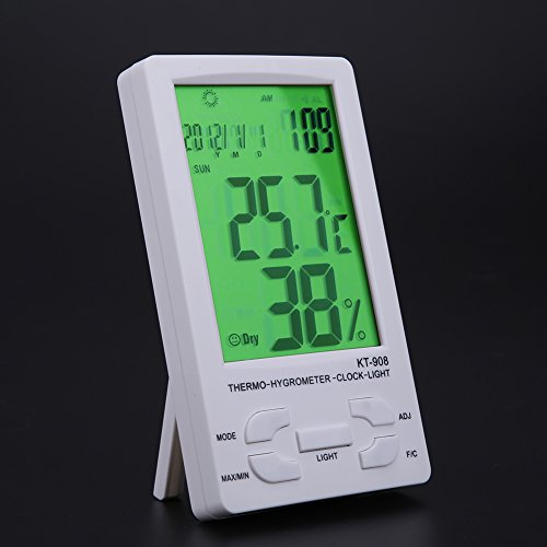 WinnerEco Indoor/ Outdoor Digital LCD Thermometer Hygrometer Temperature Humidity Met by WinnerEco (Image #2)