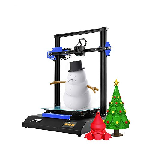 Anet ET5X DIY 3D Printer, Auto Leveling with Resume Printing Function, 3.5 Inch LCD Color Touch Screen, Upgraded Over-Current Protection Mainboard, Large Size 11.811.815.7Inch