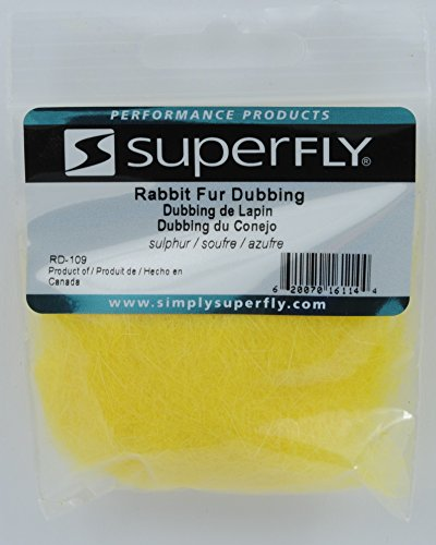 (Superfly Rabbit Fur Dubbing (Sulphur))