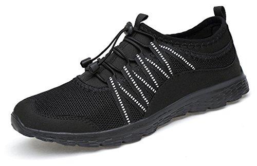 Belilent Scarpe Da Corsa Da Donna - Scarpe Da Ginnastica Sportive Traspiranti Leggere E Traspiranti, Tutte Le Sneakers Nere-073