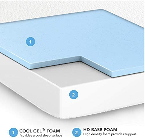 home, kitchen, furniture, bedroom furniture, mattresses, box springs,  mattresses 9 picture Classic Brands Cool Gel Memory Foam 6-Inch promotion