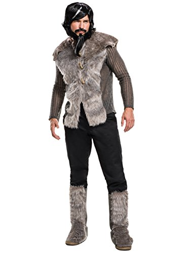 Fur Costumes For Men (Rubie's Men's Zoolander 2 Derek Faux Fur Coat Costume, Multi, Standard)